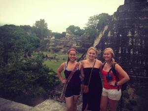 Medical Students at neighboring Tikal Guatemal